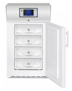 Bloodplasma Storage Cabinet compliant with the DIN 58375 – static cooling - 104 Litres TC520-S