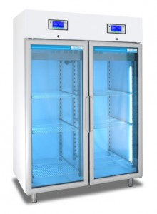 Medical pharmaceutical refrigerator with 2 temperature ranges 1500 Litres TC113