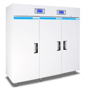 Medical-pharmaceutical refrigerator with 2 temperature ranges and 2 separate cooling systems 2300 Litres TC220-2
